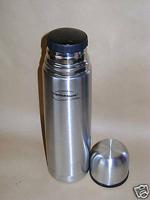 New Thermos Thermocafe Stainless Steel Flask 0.5ltr