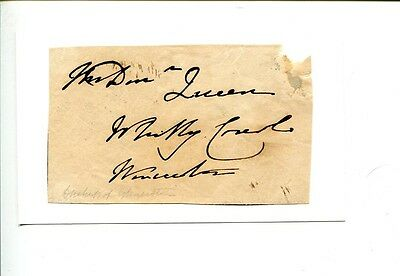 Princess Mary Duchess of Gloucester Royalty Signed Autogrpah