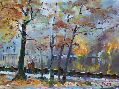 Rainy, foggy in Bear Mountain, giclee on canvas by Star