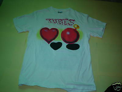 the TUBES VINTAGE CONCERT SHIRT 1985 NEW WAVE TEE SHIRT