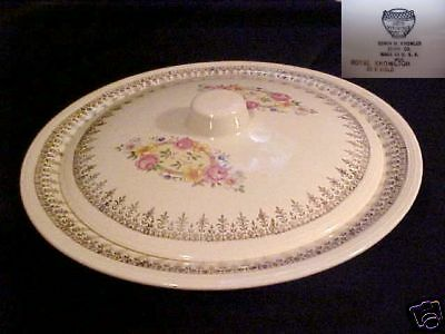 KNOWLES,EDWIN # KNO123 ROUND COVERED VEGETABLE BOWL
