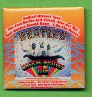 Beatles Magical Mystery Tour Album Cover Lapel Pin