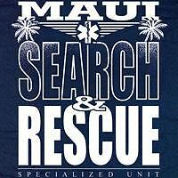 Maui Search and Rescue T-shirt  - Size Medium