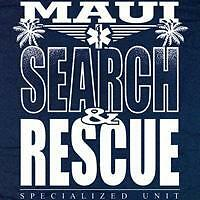 Maui Search and Rescue T-shirt  - Size Large