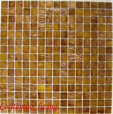 New glass tile glass mosaic for counter top 11 ft 4 for Mosaic tile bar top