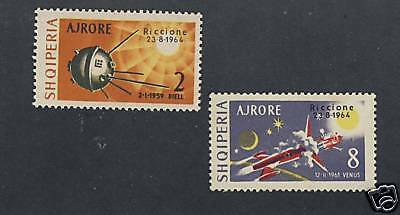 Albania - Space - Venus - Air Mail Scott C73 - C74