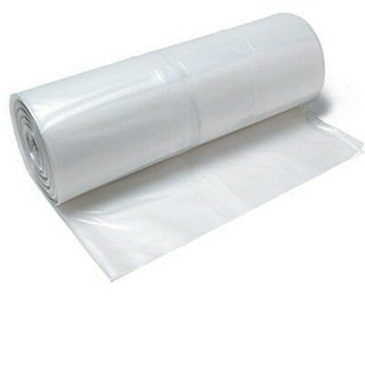 Clear Plastic Poly Sheeting 20' x 100' 6 mil Visqueen