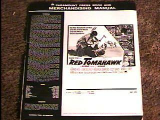 Red Tomahawk Pressbook Complete American Indian