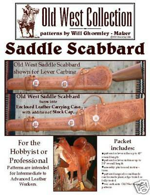 Saddle Scabbard Pattern Pack: 1800's Style/Leathercraft