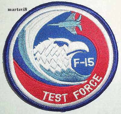 Air Force `F-15 EAGLE SHOOTER` Aircraft Cloth Badge Patch F15-2 US