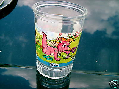 Welch's  Dragon Tales Planting Wildflowers Glass