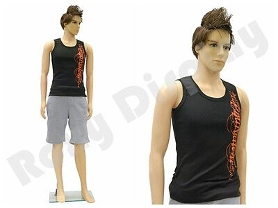 Male Mannequin Manikin Dress Form Display #Rob + FREE wig