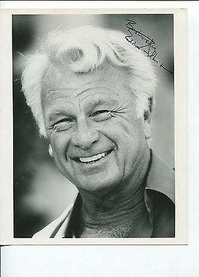 Eddie Albert Green Acres Twilight Zone The Longest Day Signed Autograph Photo