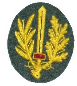 Reproduction WW2 Italian embroidered assault badge