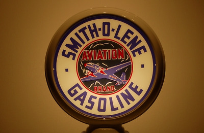 Smith-O-Lene Aviation Gas Pump Globe Sign