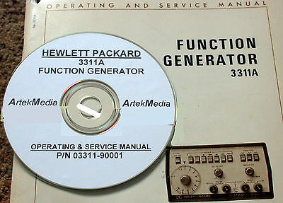 HP 3311A Function Generator Operating & Service Manual