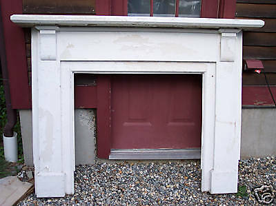 Antique, Pine Fireplace Mantel