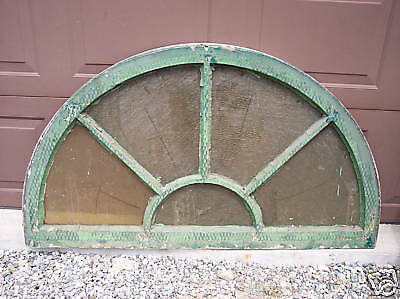 Large Arched Window, Half Round