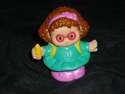 Fisher Price Little People Girl ready for School