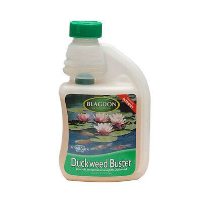 Blagdon Duckweed Buster 500ml clears pond Duck Weed Interpet Lemna Minor