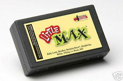 Amazing Designs Little MAX EMBROIDERY Machine SOFTWARE