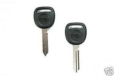 2 HUMMER Original Logo OEM H2 Key Blanks 2003 - 2007