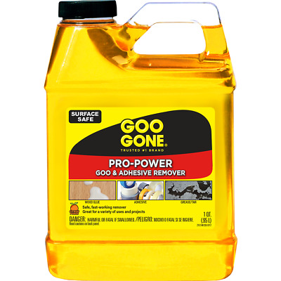 Goo Gone Chewing Gum Ink Pen Crayon Stain Removal - 32oz / 946ml