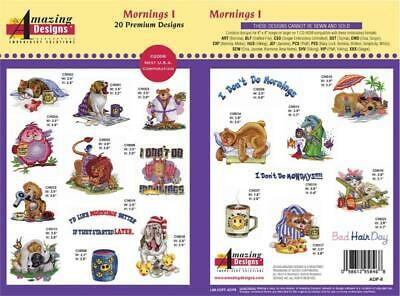 Amazing Designs Embroidery CD- Mornings 1! + GIFT!!!