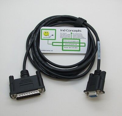 Allen Bradley Programming Cable 1784-CP10 PLC 5 (7ft)