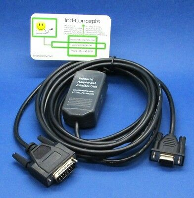 GE Fanuc SNP PLC Programming Cable 90/30 90/70 Micro Serial