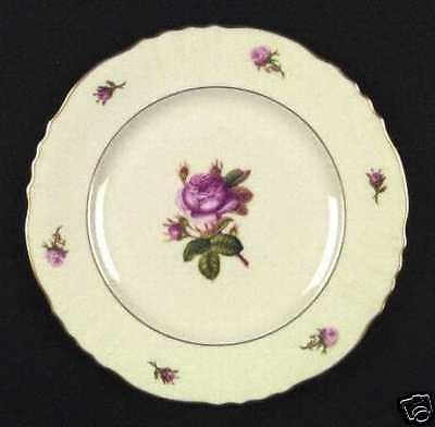 Syracuse China Pink Rose Federal Victoria Dinner Plate