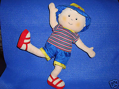 "Caillou Summer Edition 2001 15"" Plush wired Pose-able"