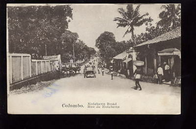 Ceylon COLOMBO Kotchena Rd early  PPC