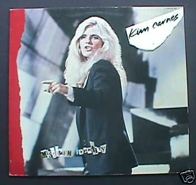 Kim Carnes Import Classic LP Different Cover