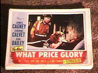 What Price Glory '52 Lobby Card #4 James Cagney