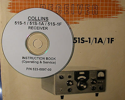 Collins 51S-1 51S-1A 51S-1F Operating & Service Manual