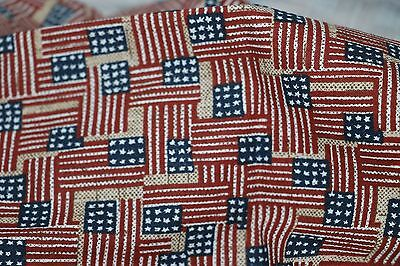 Longaberger Proudly American Ice Bucket in Old Glory Liner #28610140 NEW