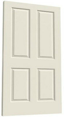 Coventry 4 Panel Raised Primed Molded Solid Core Wood Composite Doors - Prehung