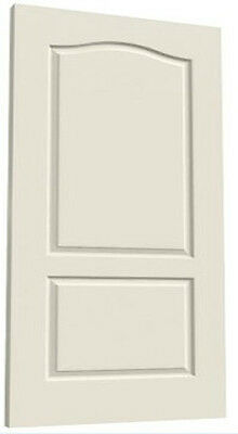Princeton 2 Panel Eyebrow Primed Molded Solid Core Wood Composite Doors Prehung