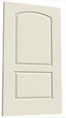 Continental 2 Panel Arch Primed Molded Solid Core Wood Composite Doors Prehung