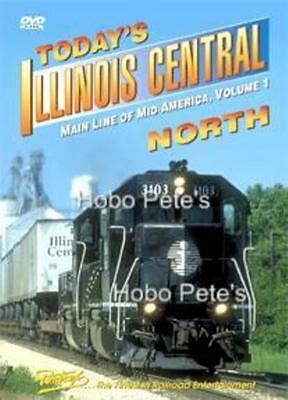 * Pentrex DVD: TODAY'S ILLINOIS CENTRAL Vol 1 - NORTH