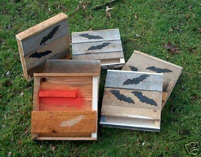 Bat Box.Bat House.4=1=CHAMBER.OHIO/HARD PINE.[M Holley] next work day shipping