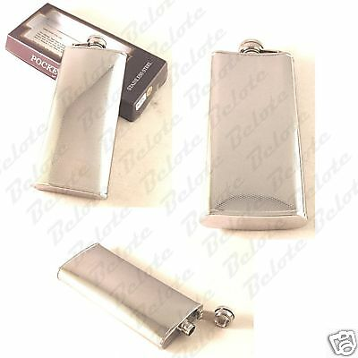 Stainless Steel Flask 5 oz. Space for Engraving HF-001C