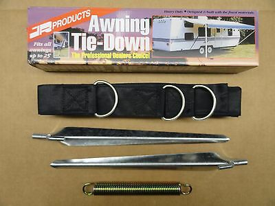 RV / Trailer / Camper- Awning Tie Hold Down Kit Package