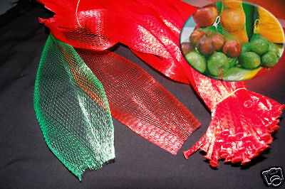 1000 PP Mesh Green 15 inch Net Bags for Produce, Toys, Fruits Supermarket Use