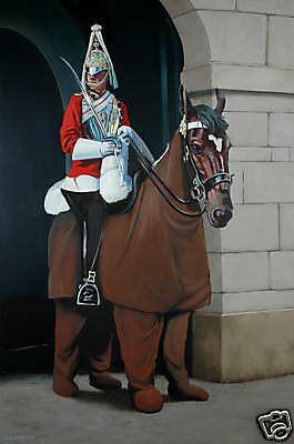 Quality Banksy Art Photo Print (Pantomime Guard)