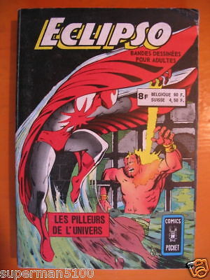 Album Eclipso-Comics Pocket-Artima-1976
