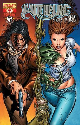 Witchblade Shades Of Gray #4 Df Dynamic Forces Foil Variant Coa Ltd 220 Top Cow