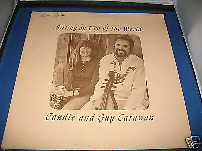 Guy & Candie Carawan - Sitting On Top Of The World (1973) Used Vinyl LP