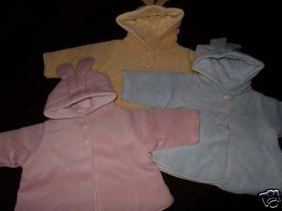 NWT Anne Geddes Baby BOYS GIRLS Easter Bunny JACKET 0-3 3-6 Months Gift